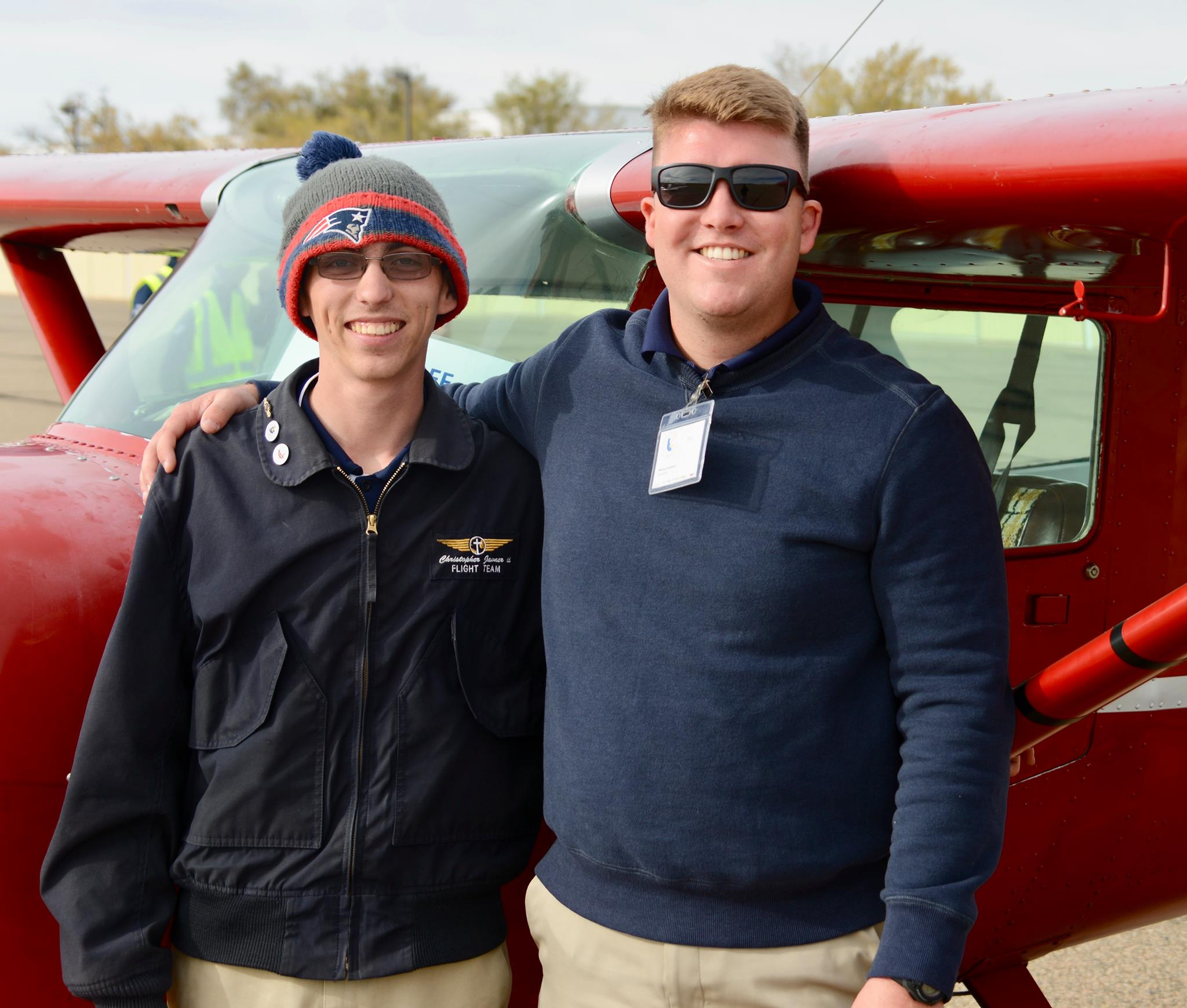 Chris Javner and Andy Griendland, SDC pilots