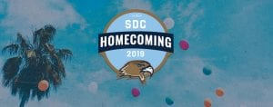 San Diego Christian College Homecoming 2019 banner ad