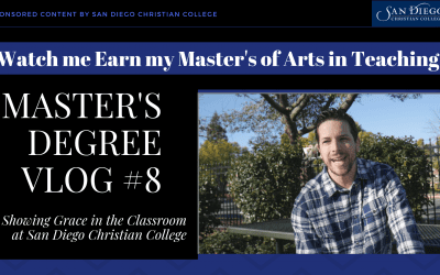 Master's Vlog #8 – How Grace Can Guide Teaching and Professional Education
